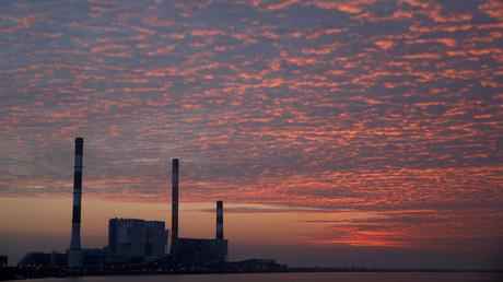 Centrale de charbon d'EDF à Cordemais, près de Nantes, en octobre 2018 (image d'illustration).