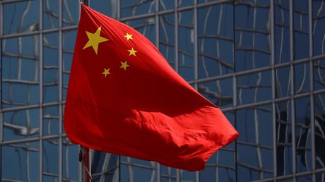 Un drapeau chinois à Pékin (image d'illustration).