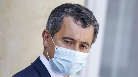 Gérald Darmanin quittant le conseil des ministres à l'Elysée le 16 septembre 2020. (Image d'illustration)