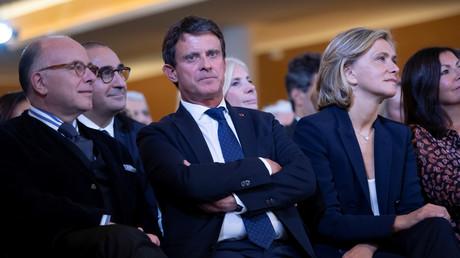 Manuel Valls lors de l'inauguration du Centre européen du Judaïsme