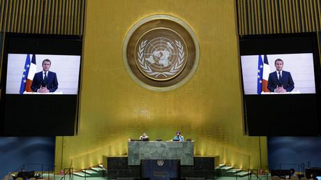 Emmanuel Macron a prononcé un discours devant l'Assemblée générale de l'ONU