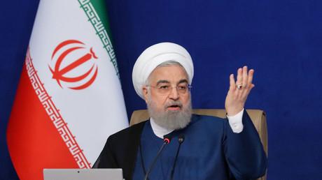 Le président de la République islamique d'Iran, Hassan Rohani.