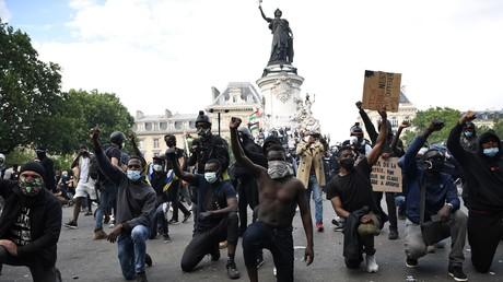 Manifestation sur la place de la République à Paris (image d'illustration).