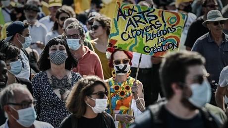 Manifestants à Bordeaux le 12 septembre 2020 (image d'illustration).