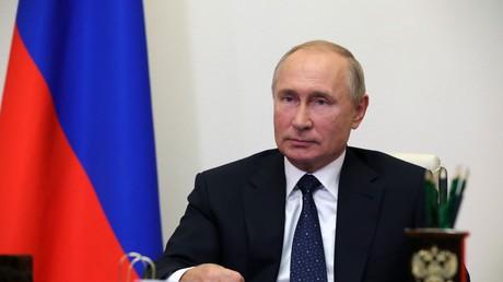 Le président de la Fédération de Russie, Vladimir Poutine, à Novo-Ogaryov, le 19 septembre 2020.