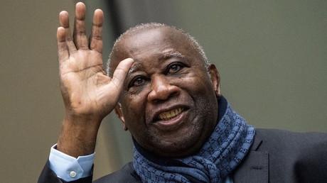 Laurent Gbagbo à son arrivée à la Cour pénale internationale à LaHaye, le 6février 2020 (image d'illustration).