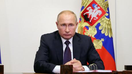 Vladimir Poutine, le 4 septembre 2020, à Odintsovo, dans la banlieue de Moscou (image d'illustration).