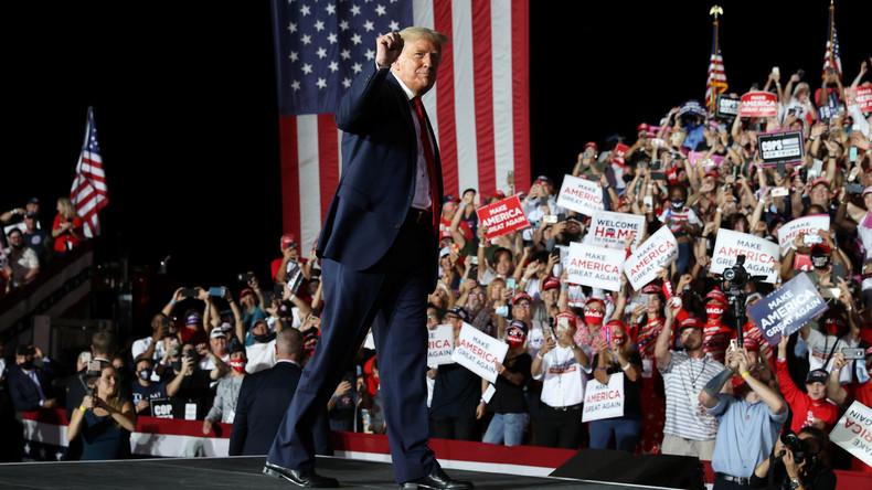 Présidentielle américaine : l'enthousiasme en faveur de Donald Trump, un élément clé ?