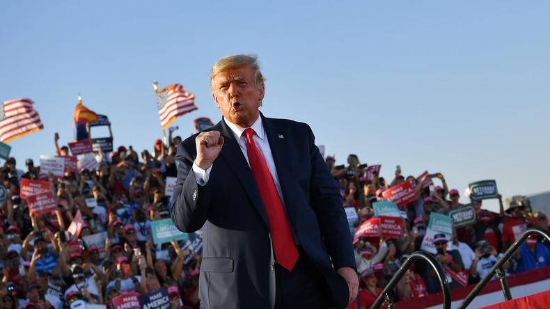 «C'est un grave cas de corruption» : Trump veut une enquête sur l'affaire Biden «avant l'élection»