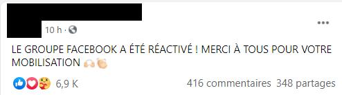 Facebook désactive un groupe de soutien au professeur Raoult... avant de le réactiver