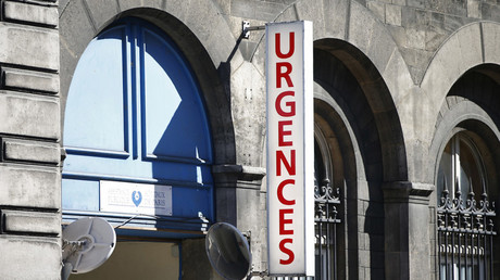 Entrée du service des urgences de l'Hôtel-Dieu, le plus vieil hôpital de Paris (image d'illustration).