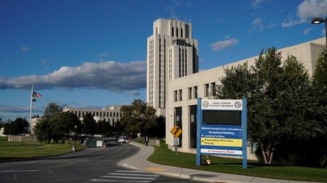 Le centre médical de Walter Reed, Bethesda, Maryland, le 2 octobre 2020.
