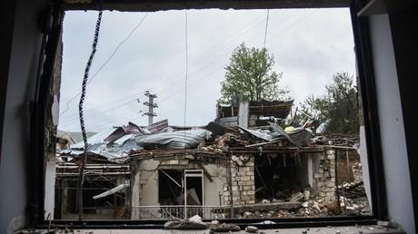 Cliché pris dans la région de Stepanakert, le 6 octobre 2020, dans le Haut-Karabagh (image d'illustration).