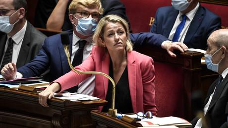 Barbara Pompili le 28 juillet 2020 à l'Assemblée nationale, lors d'une session de questions au gouvernement (image d'illustration).