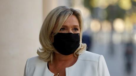 Marine Le Pen à Paris, le 22septembre 2020 (image d'illustration).