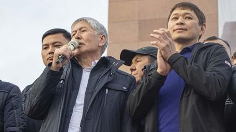 L'ancien président kirghiz Almazbek Atambaïev le 9 octobre 2020 (image d'illustration)