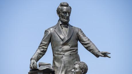 La statue du président Abraham Lincoln à Washington. (Image d'illustration)