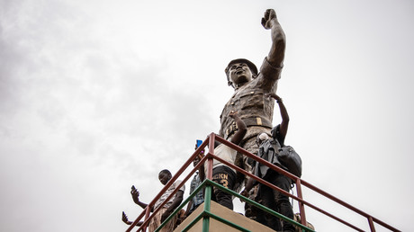 Statue de Thomas Sankara à Ouagadougou (image d'illustration).