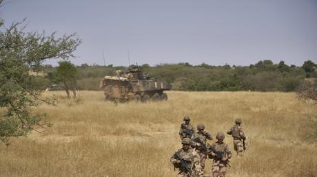 Soldats français au Burkina Faso(image d'illustration).