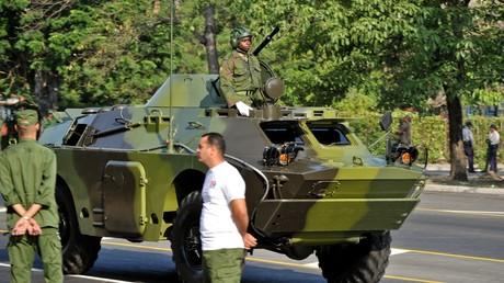 Une véhicule blindé BRDM-2 de conception soviétique à la Havane, le 11 avril 2011 (image d'illustration)