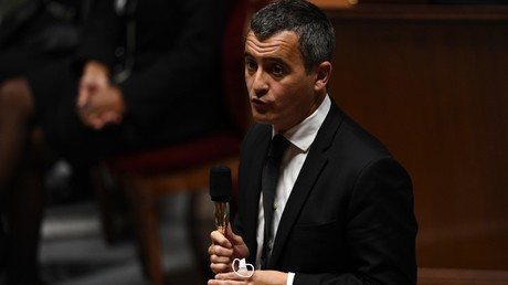 Gérald Darmanin, le 6 octobre 2020, à l'Assemblée nationale (image d'illustration).