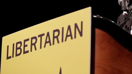 Image d'illustration : photographie prise lors d'un meeting du candidat du parti libertarien à la dernière présidentielle américaine, Gary Johnson, à Orlando, Floride, en mai 2016.