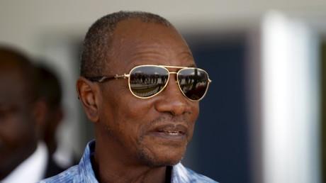 Le président sortant de Guinée Alpha Condé, le 8 octobre 2015 (image d'illustration).