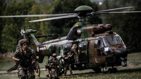 Soldats français lors d'un exercice dans la région de Grenoble en 2020 (image d'illustration).