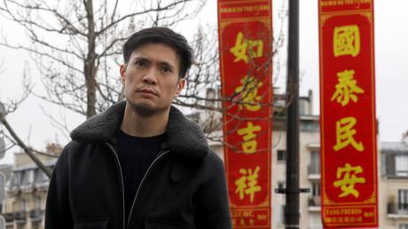 Sun Lay Tan, habitant d'Ile-de-France devenu icône de la lutte contre le racisme anti-Asiatiques lors d'une interview donnée à Reuters, le 31 janvier 2020 (image d'illustration)
