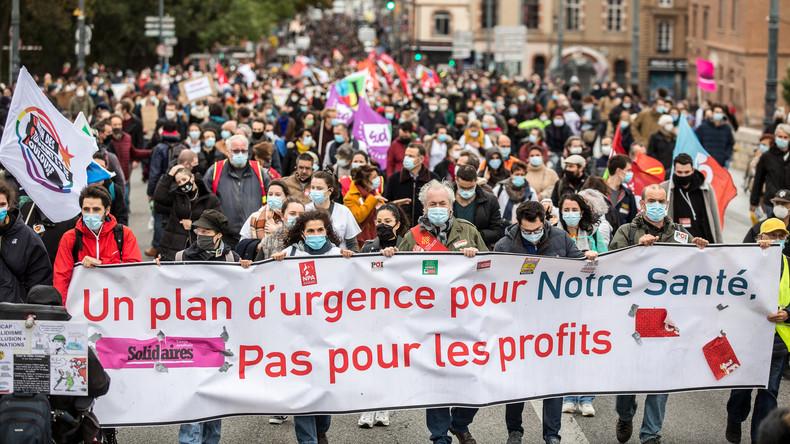 «Un plan d'urgence pour notre santé» : plusieurs milliers de personnes rassemblées à Toulouse