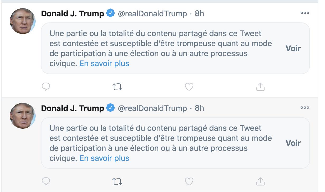 Des réseaux sociaux «hors de contrôle» censurent-ils les pro-Trump ?