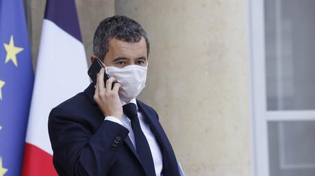Le ministre français de l'Intérieur Gérald Darmanin quitte le palais présidentiel de l'Elysée à Paris le 21 octobre 2020 (image d'illustration).