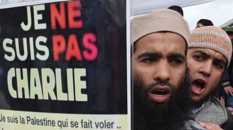Manifestation de salafistes contre Charlie Hebdo au Maroc le 23 janvier 2015 (image d'illustration).