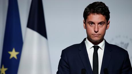 Gabriel Attal, porte-parole du gouvernement, le 28 septembre 2020 (image d'illustration).