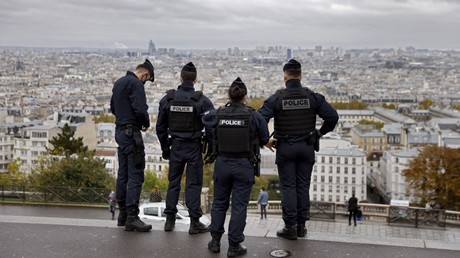 Cliché pris à Paris le 1er novembre 2020 (image d'illustration).