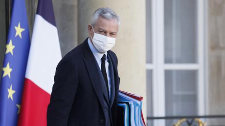 Le ministre de l'Economie et des Finances, Bruno Le Maire, le 4 novembre à l'Elysée.