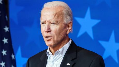 Biden s'exprime depuis le Delaware ce 5 novembre.