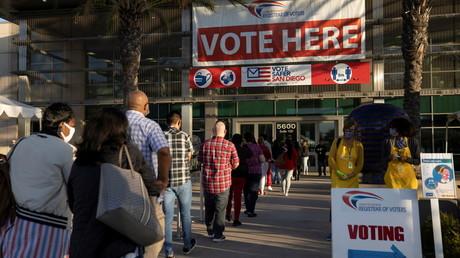 Cliché pris à San Diego, le 3 novembre 2020, aux Etats-Unis (image d'illustration).