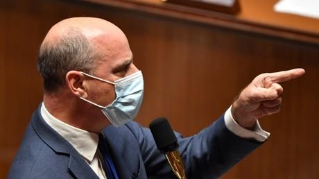 Jean-Michel Blanquer le 27 octobre 2020 lors des questions au gouvernement à l'Assemblée nationale, Paris (image d'illustration).