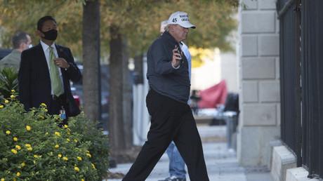 Donald Trump revient à la Maison Blanche après une partie de golf le 7 novembre dans la foulée de l'annonce de la victoire de Joe Biden par la presse (image d'illustration).