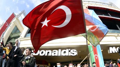 Célébrations à Bakou le 10 novembre 2020