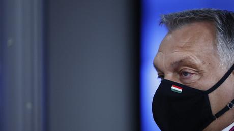 Le Premier ministre hongrois, Viktor Orban, le 15 octobre 2020 à Bruxelles (image d'illustration).
