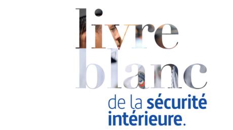 Capture de la page de garde du Livre blanc de la Sécurité intérieure, sur le site interieur.gouv.fr