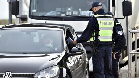 Contrôle de police (image d'illustration).