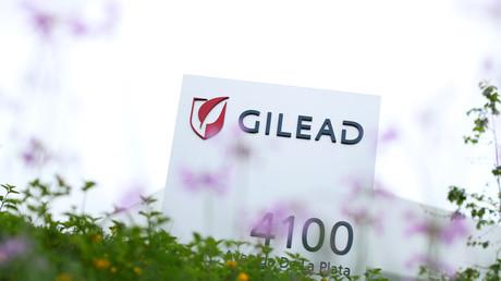 La société pharmaceutique Gilead en Californie, le 29 avril 2020 (image d'illustration).