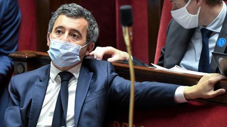 Gérald Darmanin à l'Assemblée nationale le 20 novembre
