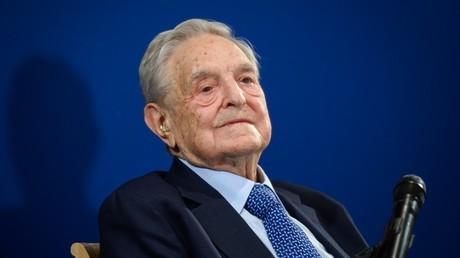 George Soros à Davos, le 23janvier 2020 (image d'illustration).