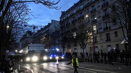 Manifestation du 21 novembre à Paris (image d'illustration).
