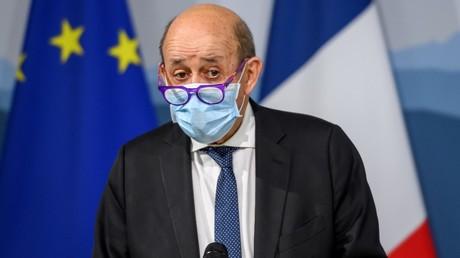 Jean-Yves Le Drian, le 16novembre 2020 en Suisse (image d'illustration).
