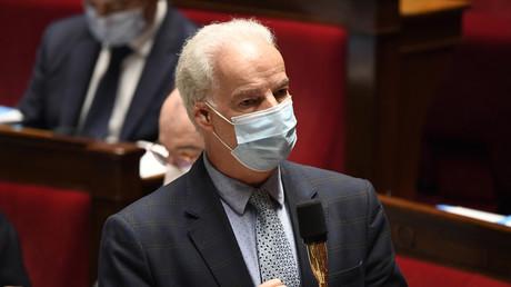 Le ministre délégué aux PME, Alain Griset, durant la session des questions au gouvernement au gouvernement à l'Assemblée nationale le 17 novembre.